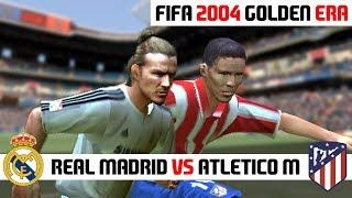 FIFA 2004 / Real Madrid vs Atletico Madrid / PC Gameplay HD