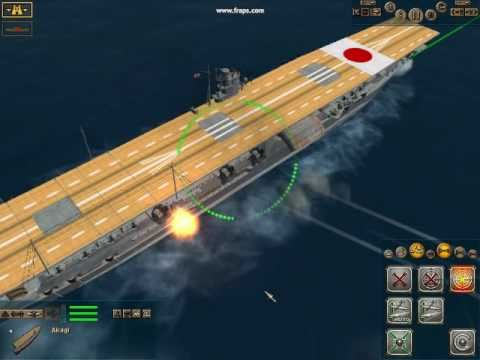 Pacific Storm Allies Aircraft Carriers Demos