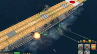 [Pacific Storm: Allies] Aircraft Carriers Demos