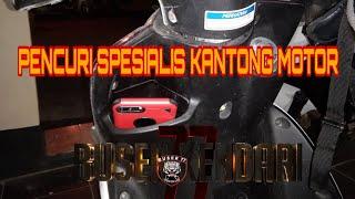 Penangkapan pencurian Specialis kantong motor