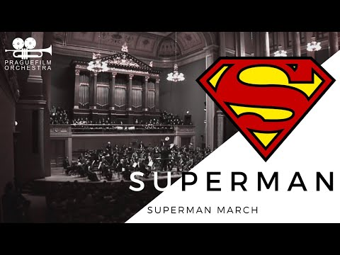 Prague Film Orchestra: Superman - Superman March (LIVE - 29.11.2010)