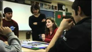 Colgate chemistry class visits Hamilton Central School