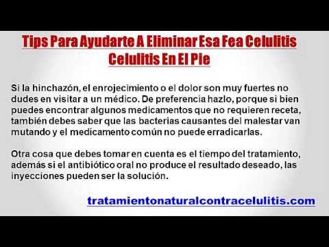 tratamiento antibiótico oral para la celulitis