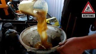 Frittenfett statt Motoröl | Der etwas andere Ölwechsel