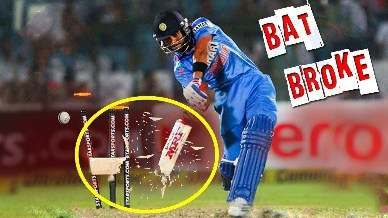 ऐसी Bowling जिसने बैट को चकनाचूर कर दिया// Bat Broken incident in Cricket History