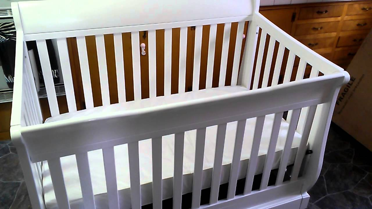 graco maple ridge 4in1 convertible crib review