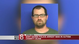 E. Haven police arrest man in autism charity scam