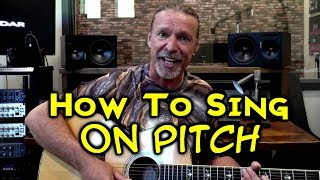 How To Sing On Pitch | Singing Tutorial | Ken Tamplin Vocal Academy