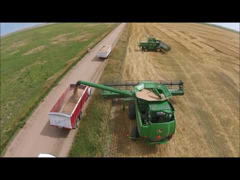 Kansas Wheat Harvest 2016