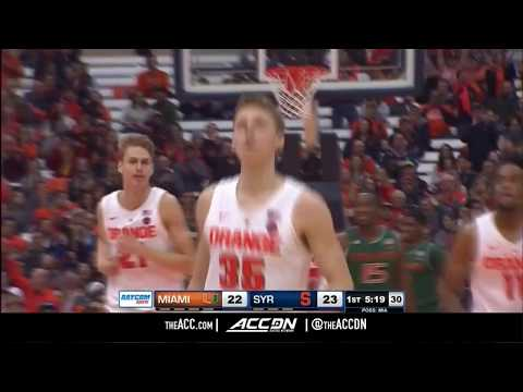 Miami vs Syracuse - Condensed Game | ACC Basketball 2018-19
