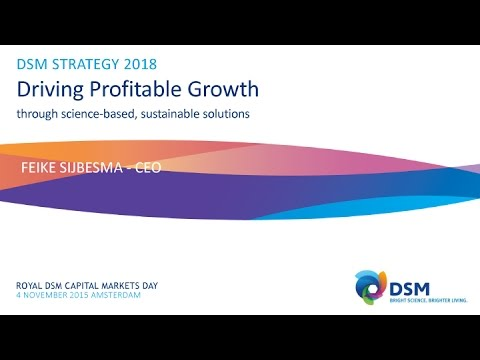 DSM Capital Markets Day 2015