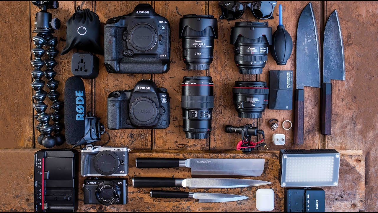 f03b78dc05ef What's in my CAMERA BAG? 2018 Food Photography - YouTube
