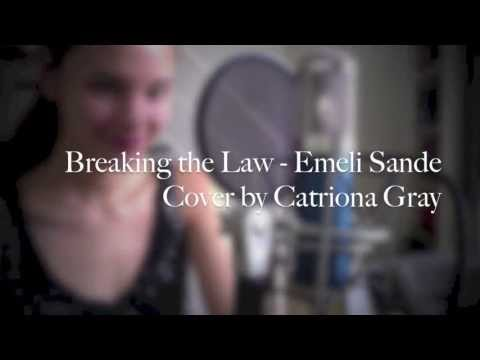 Breaking the Law Cover by Catriona Gray