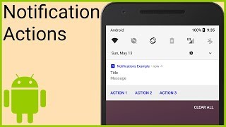 Android Firebase Push Notification With Custom Click Action