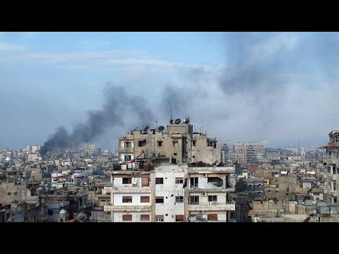 Strikes hit Syrian airfield, says state media