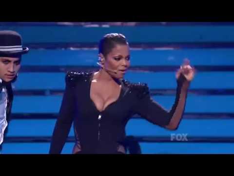 "Janet Jackson - ""Nasty"" (American Idol - ao vivo)"