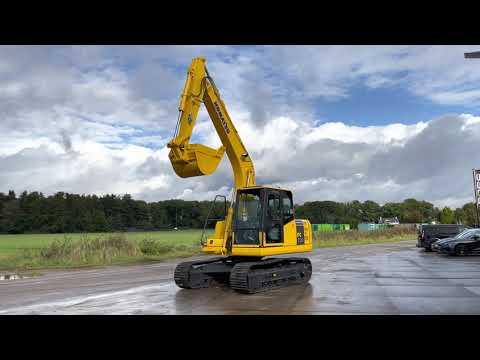 Used heavy machinery Komatsu PC130-7 Crawler excavator