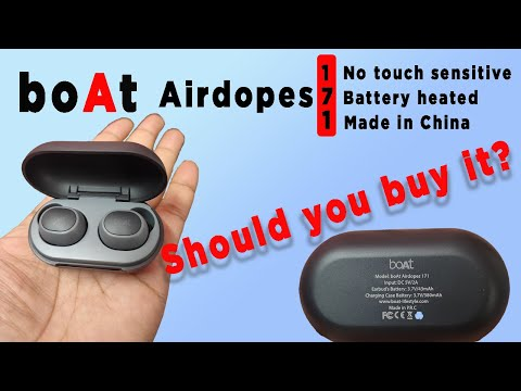 BoAt Airdopes 171 Honest Unboxing And Review   Should you buy it? In hand experience.
