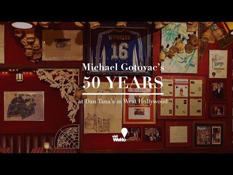 Bartender Michael Gotovac Celebrates His 50th Anniversary at Dan Tana's