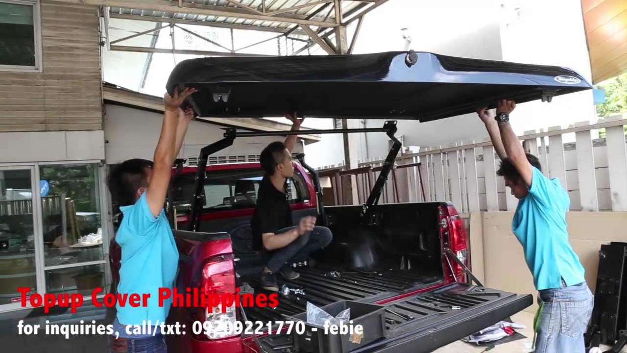Topup Cover installation for Hilux 2015 - YouTube