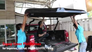 Topup Cover installation for Hilux 2015