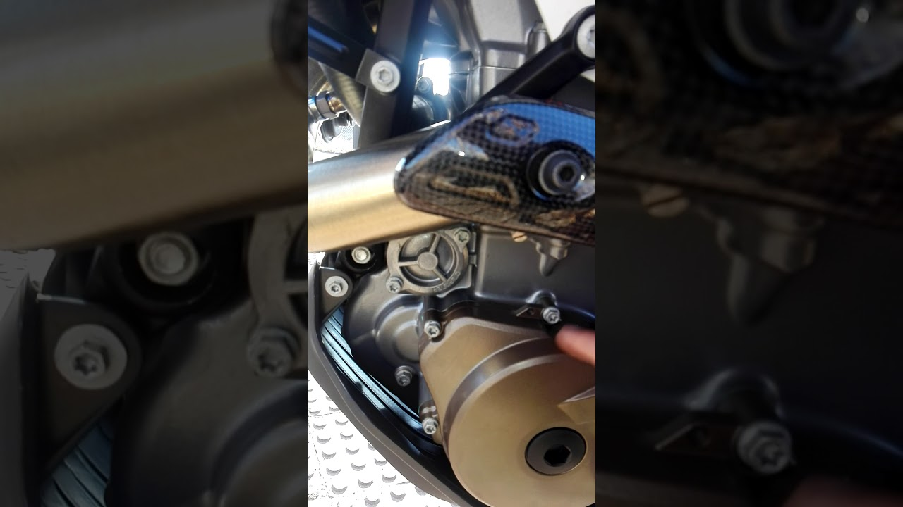 Husqvarna 701 engine sound - YouTube