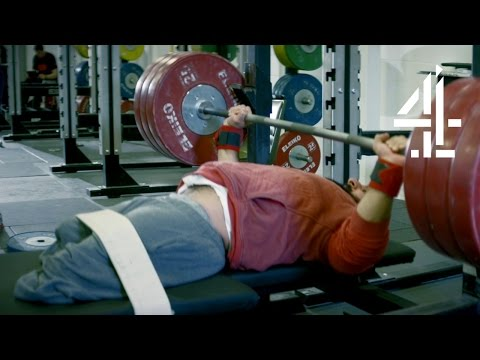 Powerlifter Lifts 100KG First Time at the Gym | Paralympians: Dare to Believe