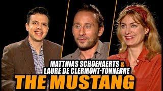 Entrevista THE MUSTANG - Actor Matthias Schoenaerts Y Directora Laure De Clermont-Tonnerre