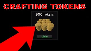 CRAFTING 2000 TOKENS Y CRAFTING 2 CASOS ELITE *GONE WRONG* (ROBLOX ASSASSINS)