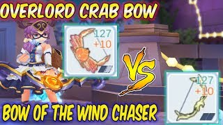 Overlord Crab Bow vs Bow of the Wind Chaser | Ragnarok Mobile Eternal Love