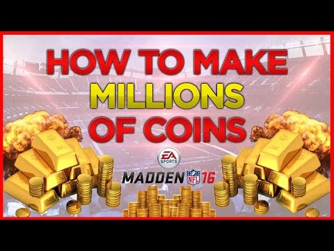 How To Make Coins In Madden 16 Ultimate Team - Best Coin Making Methods