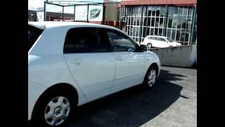 2004 Toyota Corolla Allex XS 150G White