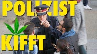 Polizei Prank - Polizist kifft  - Wiener Schmäh - Versteckte Kamera lustig