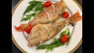 Морской окунь рецепт в духовке