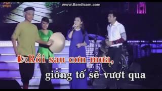 karaoke nối lại tình xưa thiếu giọng nam