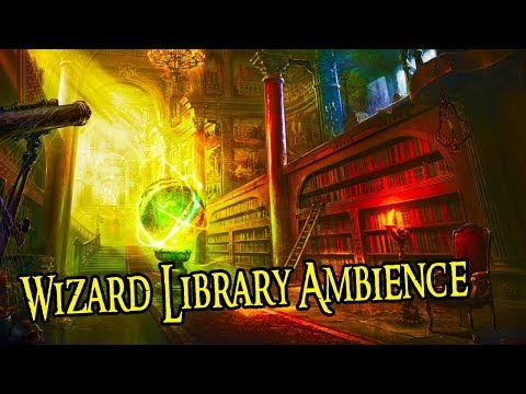 Old Wizard Library Ambience | Fantasy Ambience Sound