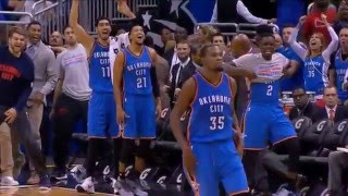 OKC Thunder Top 5 Game Winners!