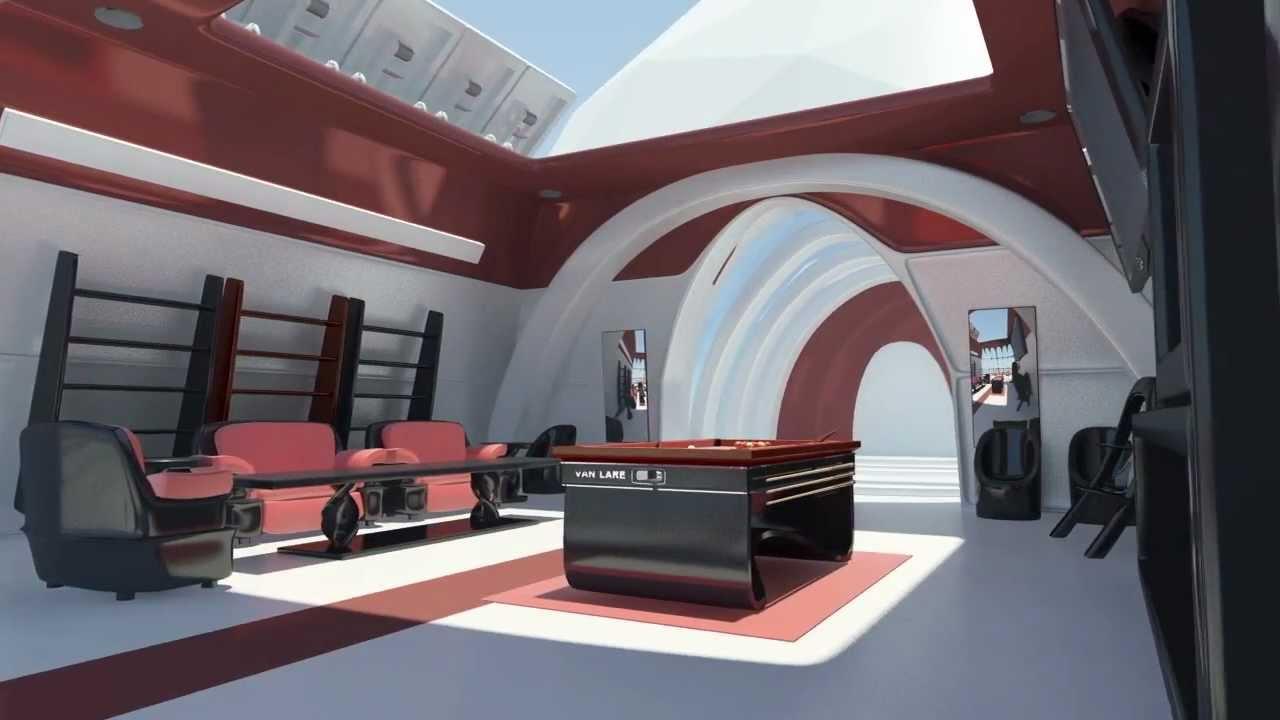salon futuriste bi2 jour et nuit youtube