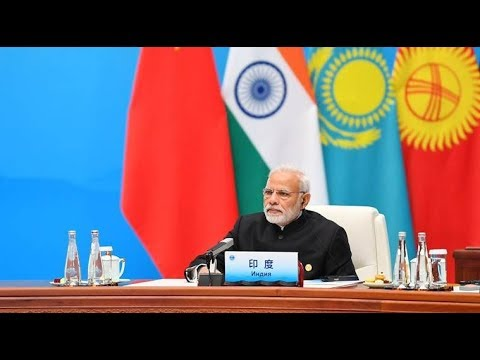 PM Narendra Modi addresses the Plenary Session of SCO Summit in Qingdao, China