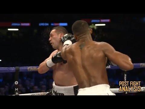 ANTHONY JOSHUA VS JOSEPH PARKER - IBF/WBA/WBO HEAVYWEIGHT TITLE: POST FIGHT REVIEW