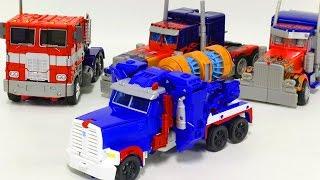 Transformers Ultra Magnus Optimus Prime Vehicle Car Toys 트랜스포머 울트라 매그너스  옵티머스 프라임 자동차 장난감 로봇 변신 동영상