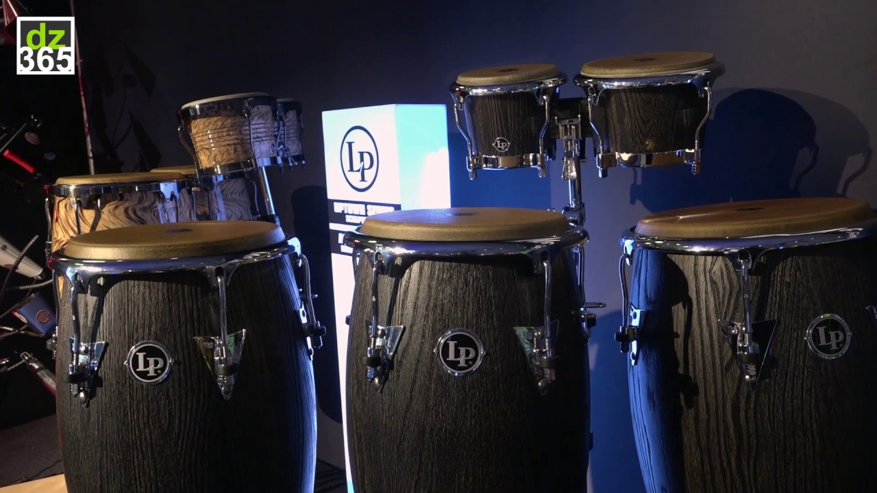latin percussion sculpted ash congas and bongos youtube. Black Bedroom Furniture Sets. Home Design Ideas