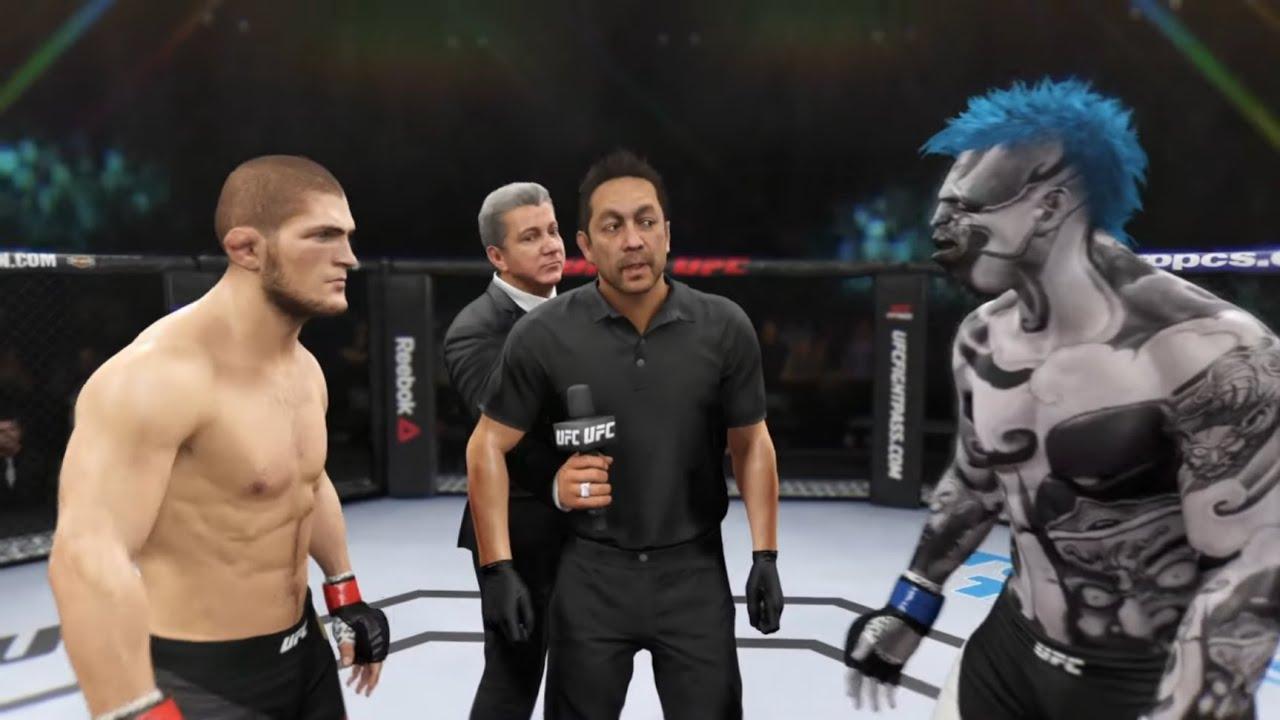 Khabib vs. Sea Monster (EA Sports UFC 2)