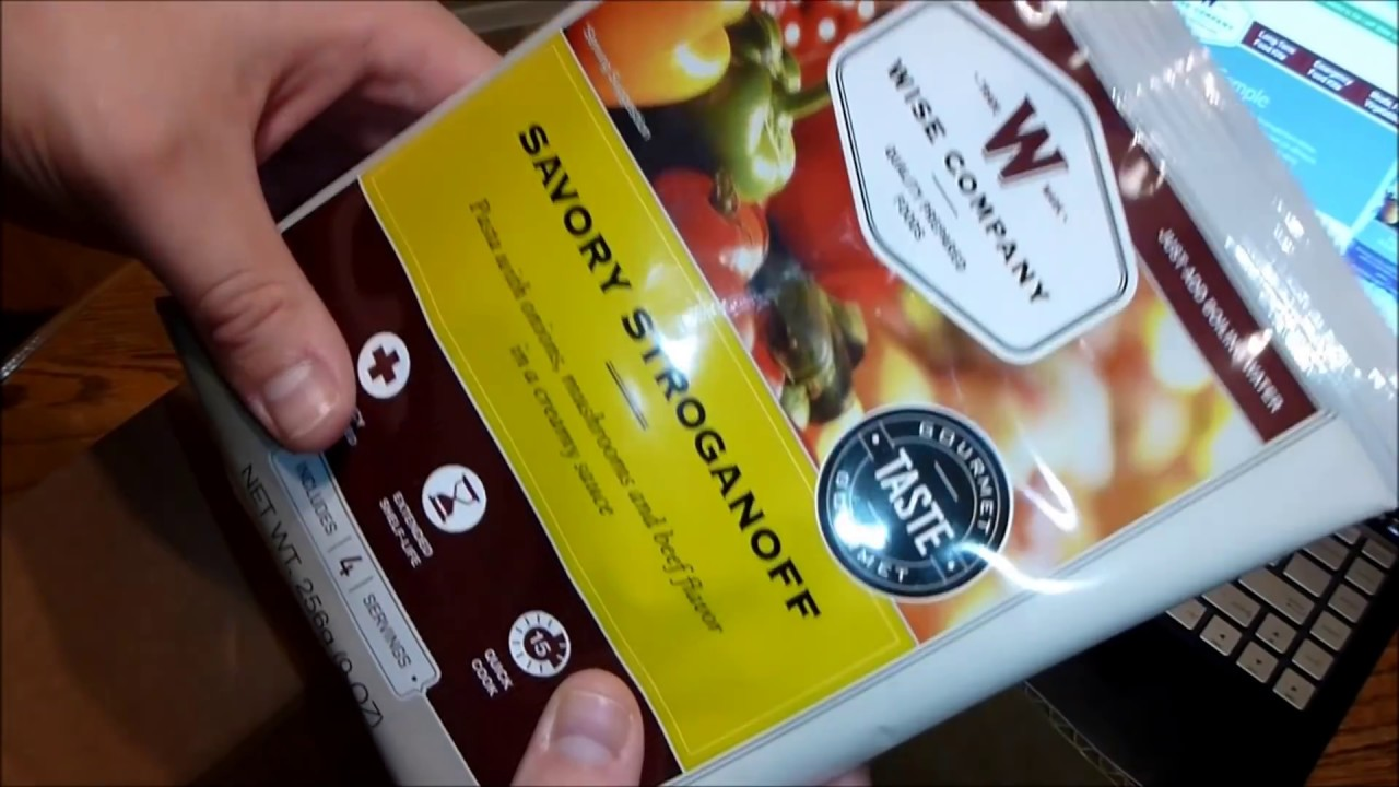 Wise Company Emergency Food Free Samples Delivered HD - YouTube