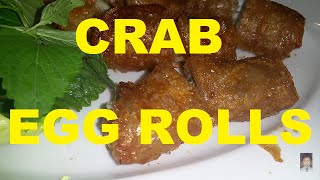 Quan Ut Ca Mau Crab Egg Rolls Wild Honey Saigon Vietnam 2016