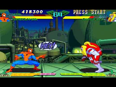 Ultraluux Juega: Marvel Super Heroes Vs Street Fighter