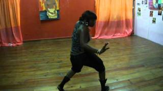 SHELLY XPRESSIONZ dancing to Vybz Kartel- Go Go Whine