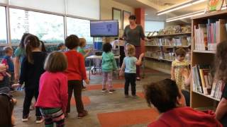 Lydia at Story Time