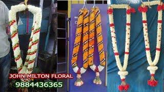 Repeat youtube video How to Make Rose Petal Garlands 9884436365