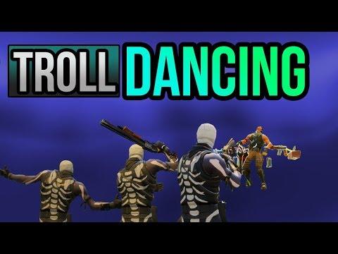 Dancing Troll Kills | Don't Fall For It! | Fortnite Trolling Battle Royale